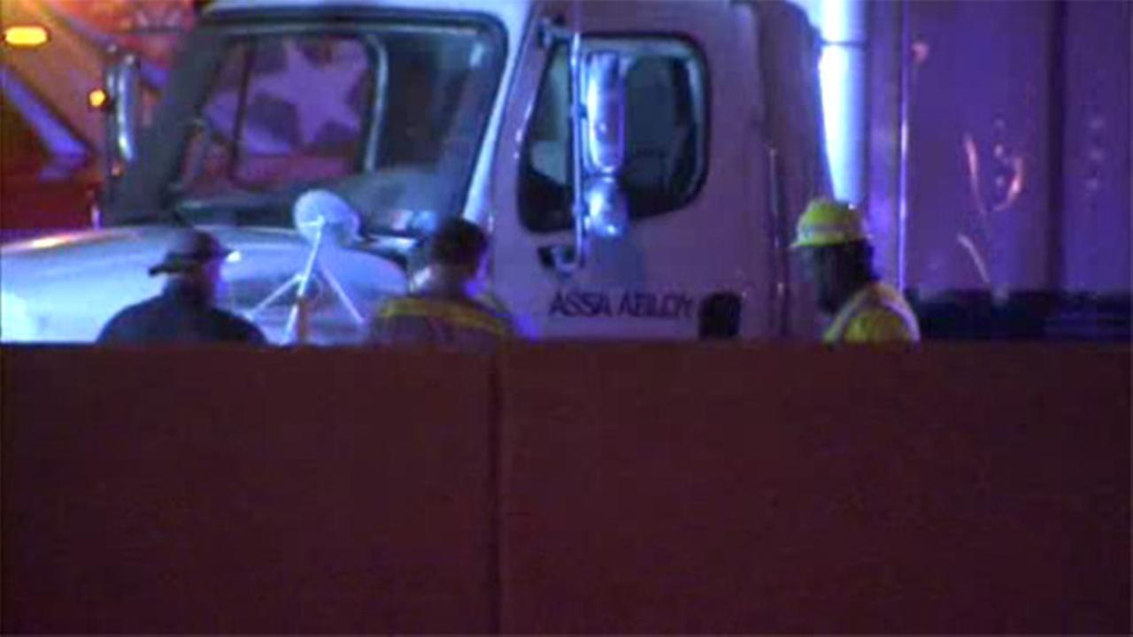 Two trucks collide in Plymouth Meeting