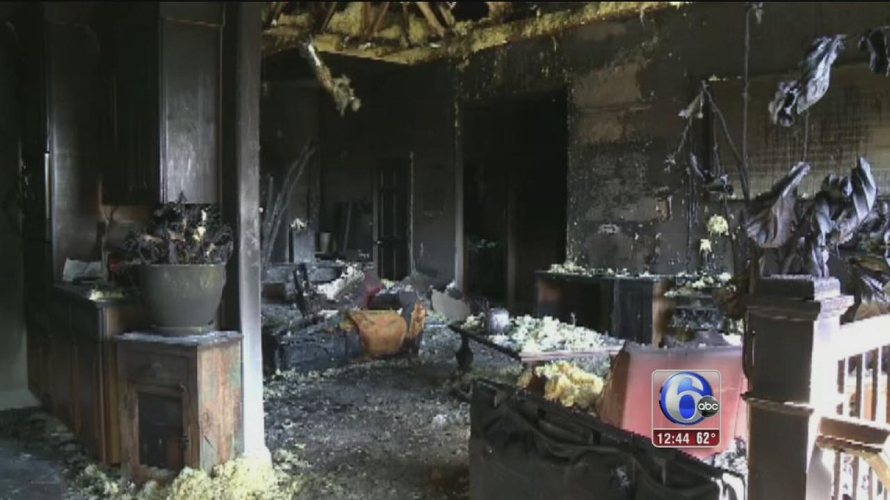 VIDEO: Remote control may have caused house fire in Iowa