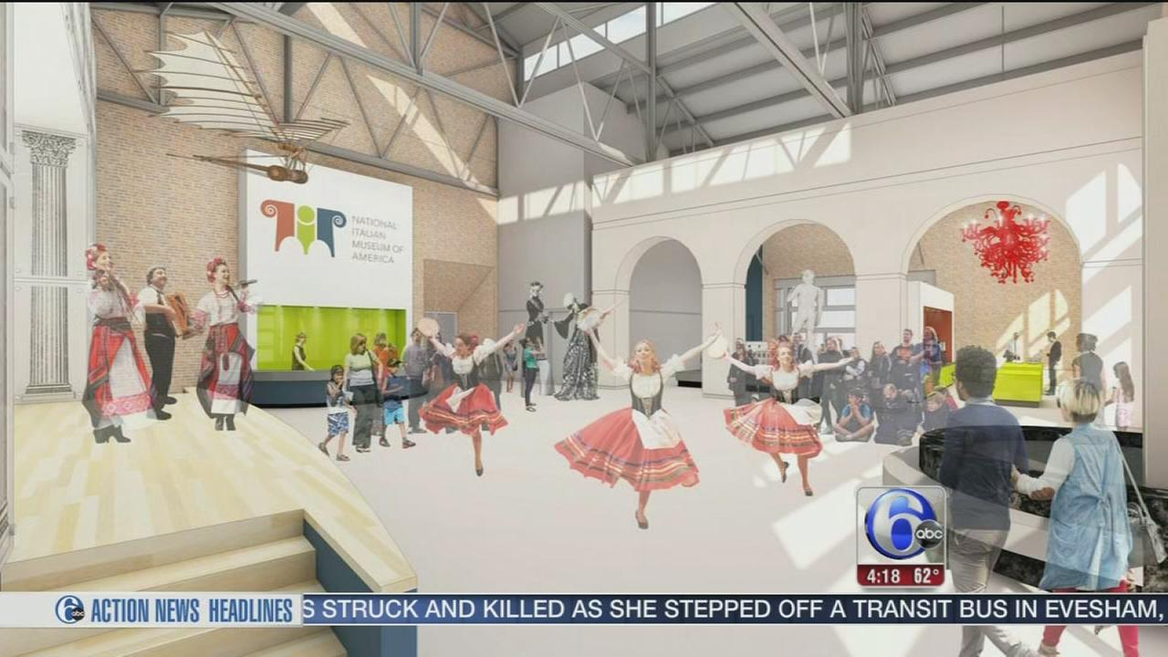 VIDEO: National Italian Museum of America opening in Philadelphia