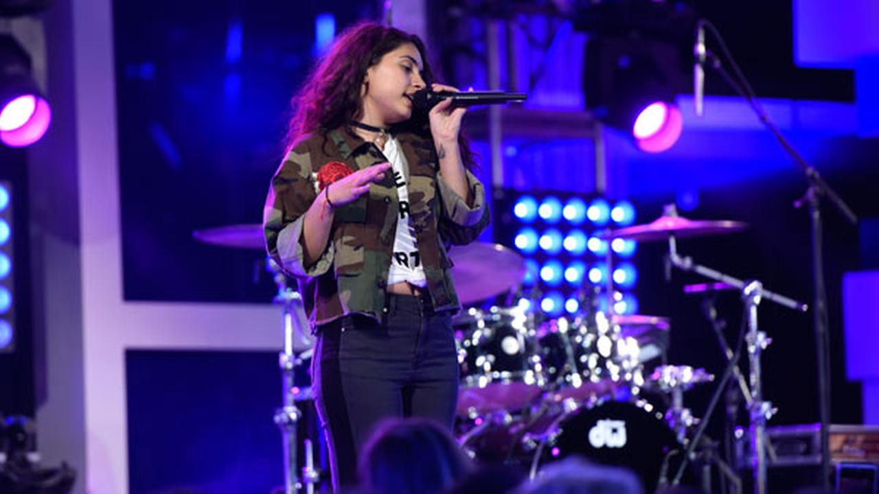 Alessia Cara performs during the pre-show at the MTV Video Music Awards at Madison Square Garden on Sunday, Aug. 28, 2016, in New York.Photo by Chris Pizzello/Invision/AP