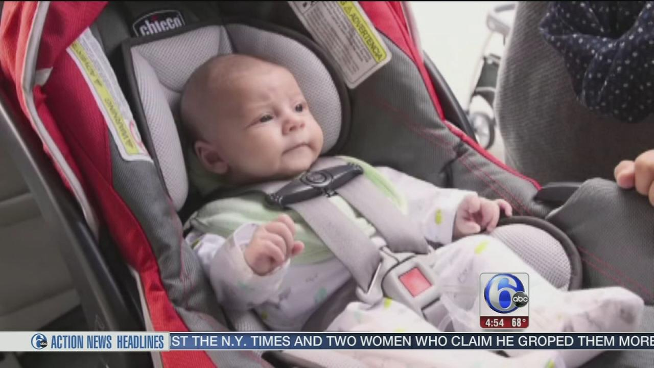 VIDEO: Consumer Reports tests new car seat safety feature