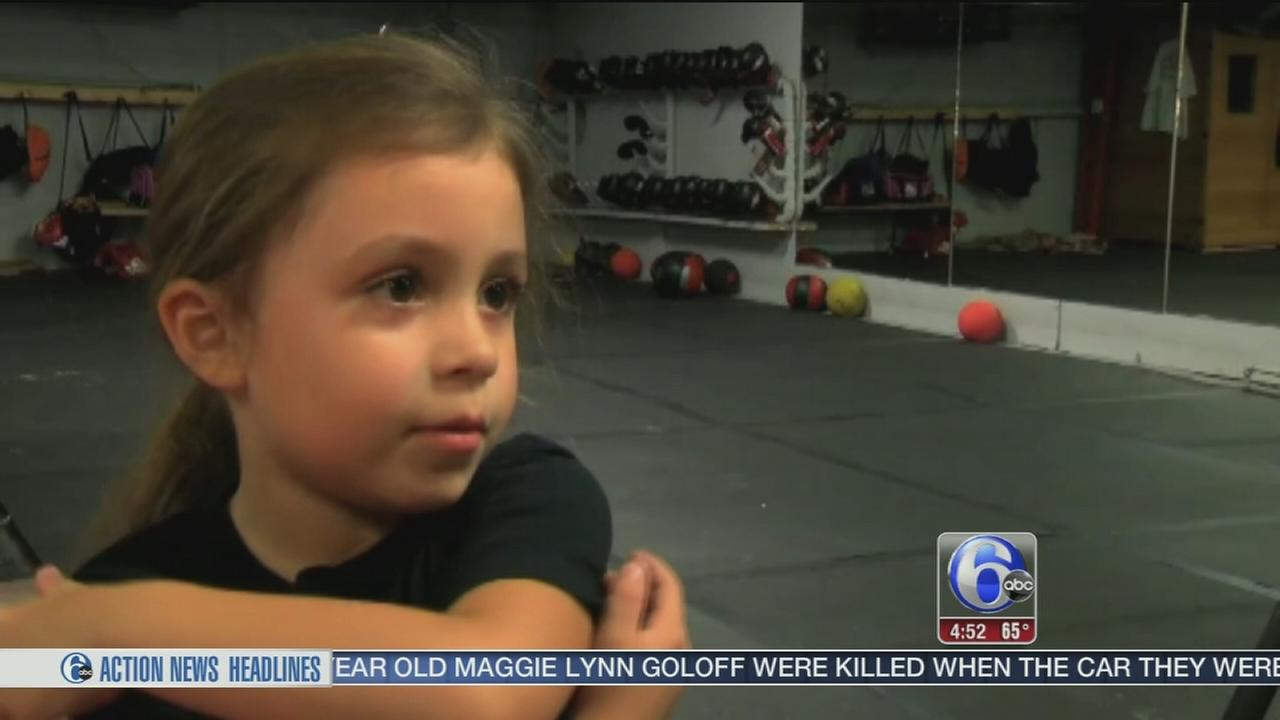 VIDEO: 4-year-old boxer proves power comes in small packages
