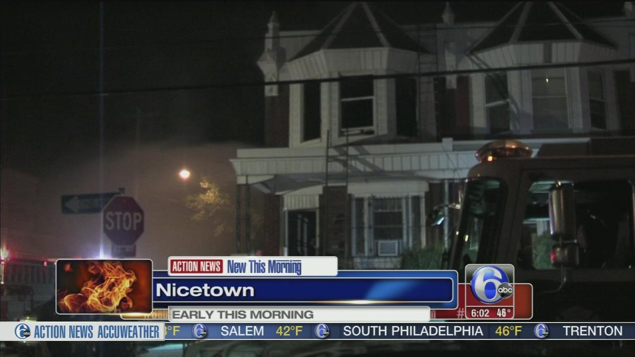 VIDEO: Family, including 100-year-old, escape Nicetown fire