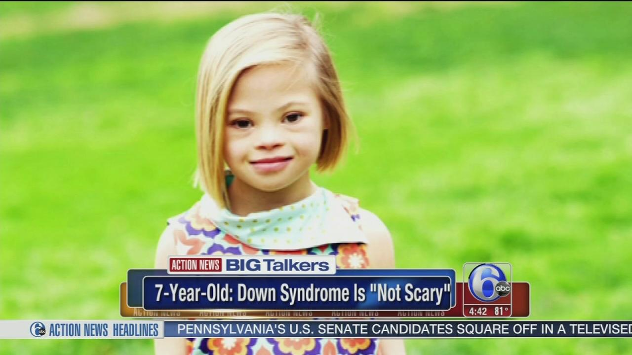 VIDEO: 7-year-old girl explains why Down syndrome is not scary at all