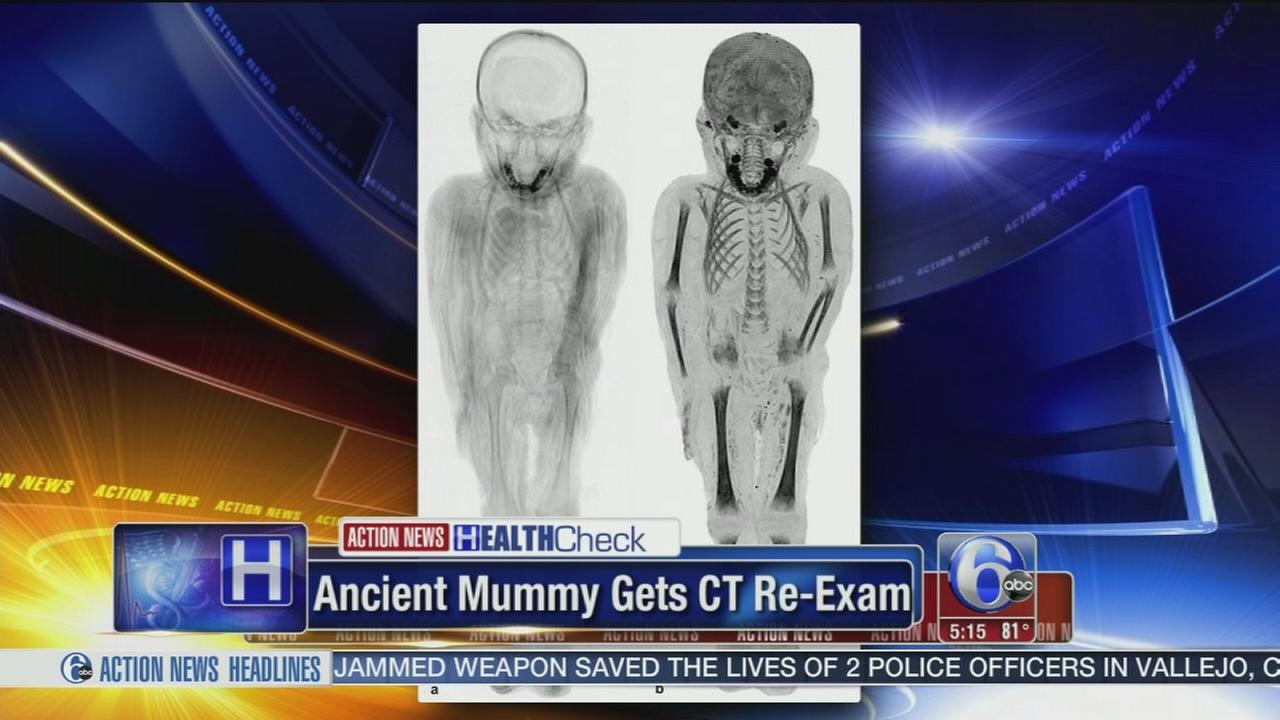 VIDEO: Ancient mummy gets CT exam