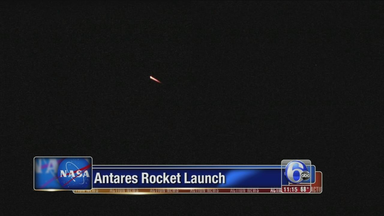 VIDEO: Antares rocket launch