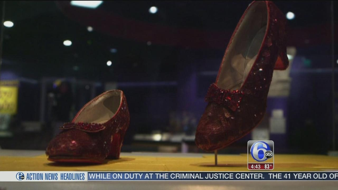 VIDEO: Smithsonian launches Kickstarter to save Dorothys ruby slippers