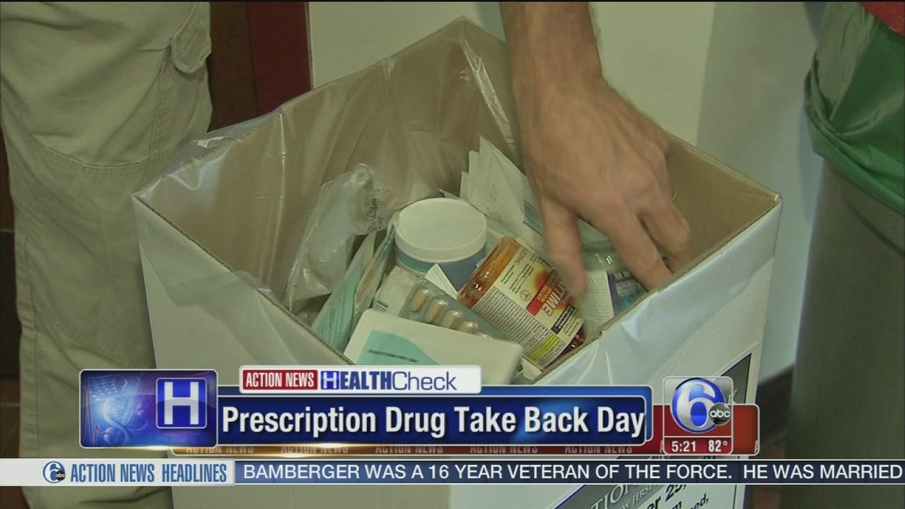 VIDEO: Prescription drug take back day