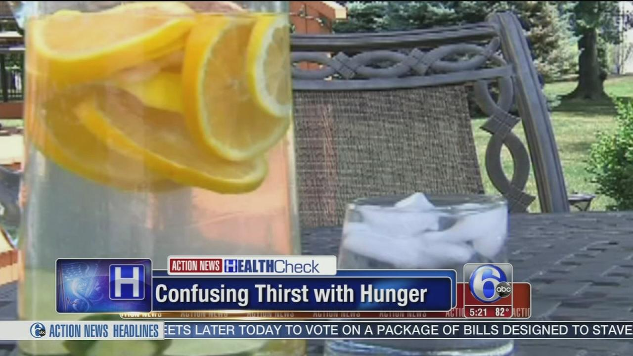 VIDEO: Confusing thirst with hunger