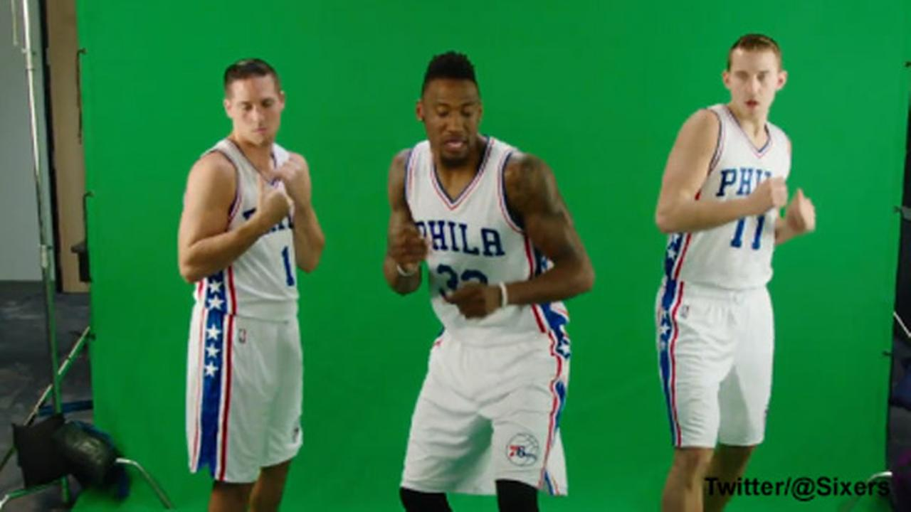 Philadelphia 76ers dance to 'Juju on that Beat,' as Kelly Ripa prepares