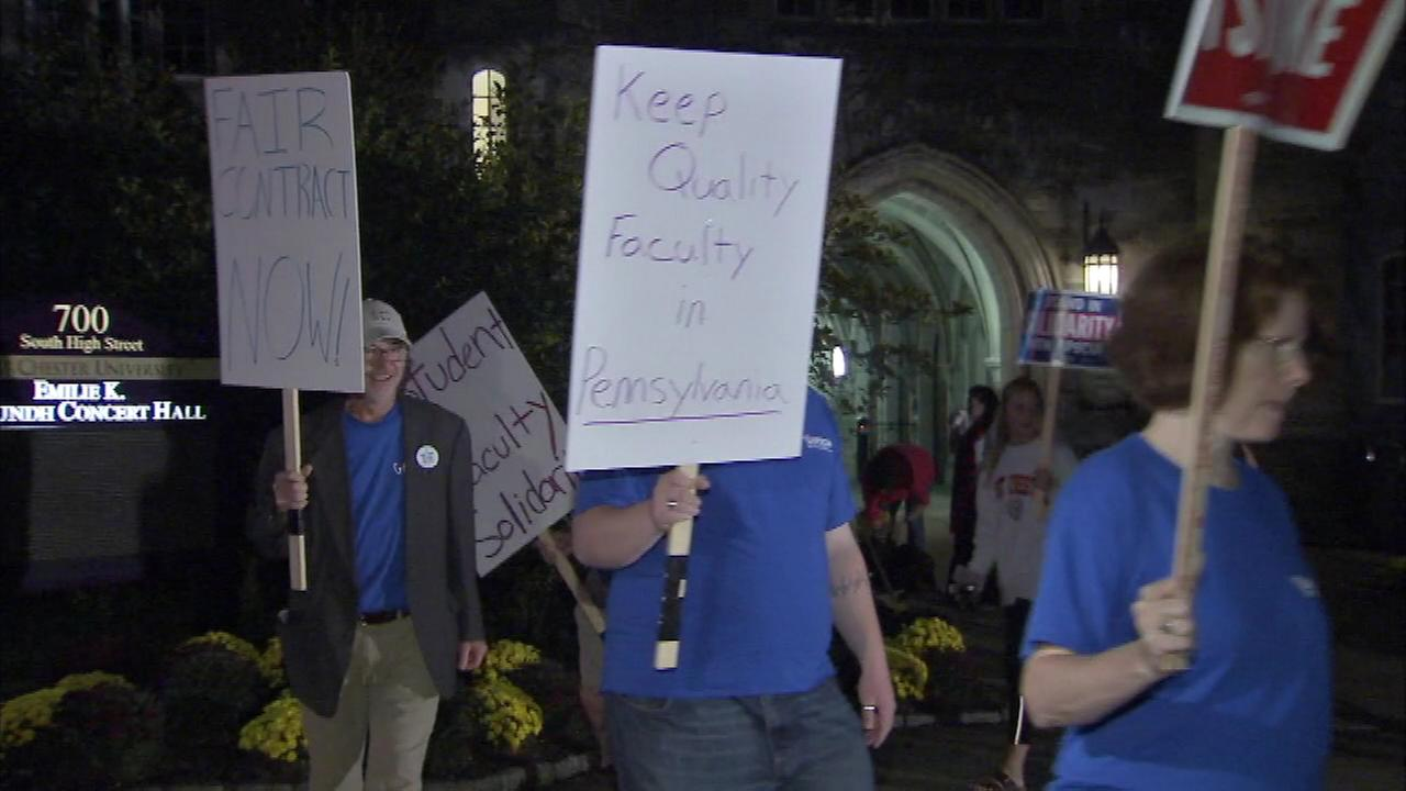 October 19, 2016: Faculty members went on strike at 14 Pennsylvania state universities, impacting more than 100,000 students.