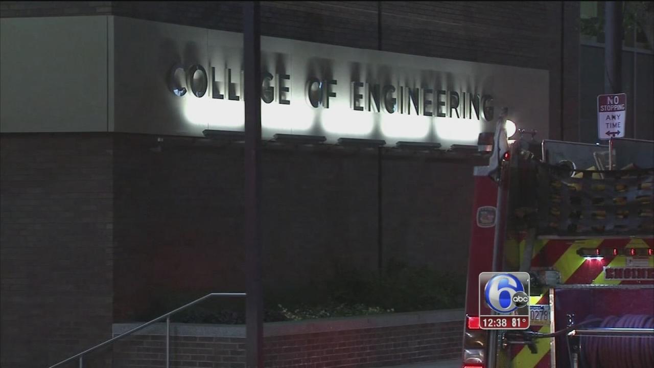 VIDEO: Hazmat at Temple University