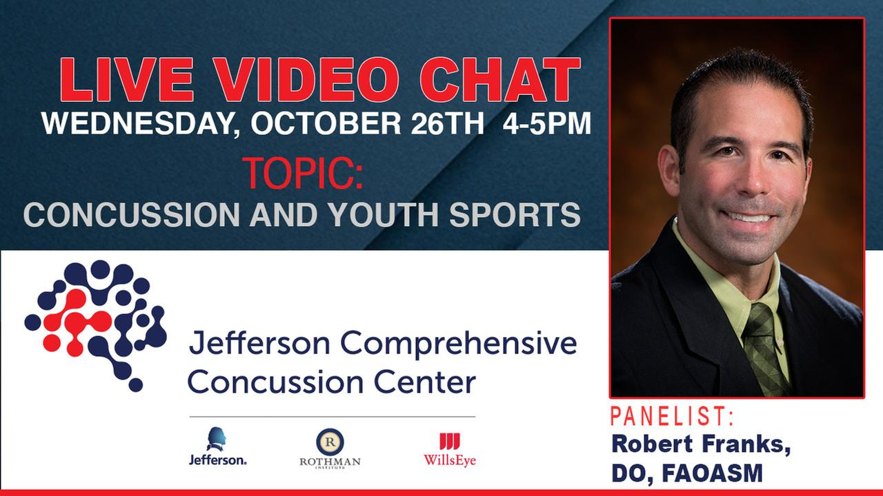 6abc LIVE Video Chat: Concussion and Youth Sports