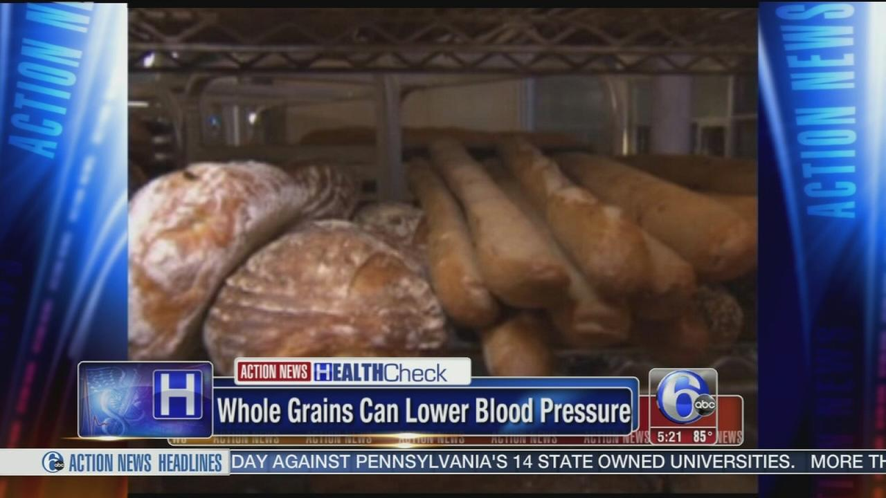 VIDEO: Whole grains can lower blood pressure