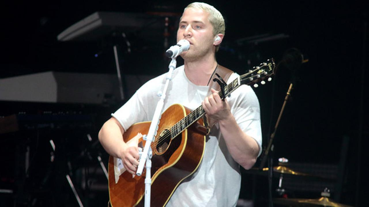 Mike Posner performs in concert as the opening act for Demi Lovato during her Future Now Tour at the BB&T Pavilion on Thursday, July 14, 2016, in Camden, N.J.