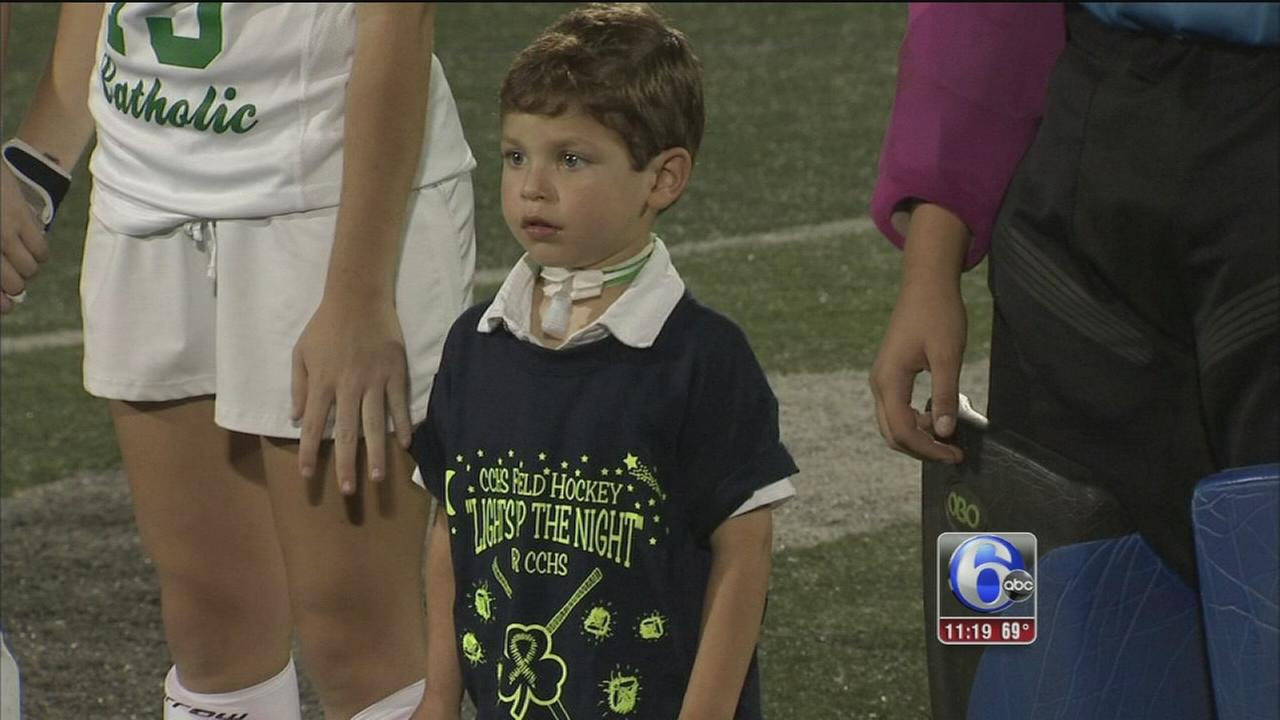 Helping a boy battle a rare disease