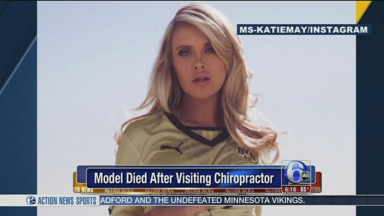 VIDEO: Model Katie May dies