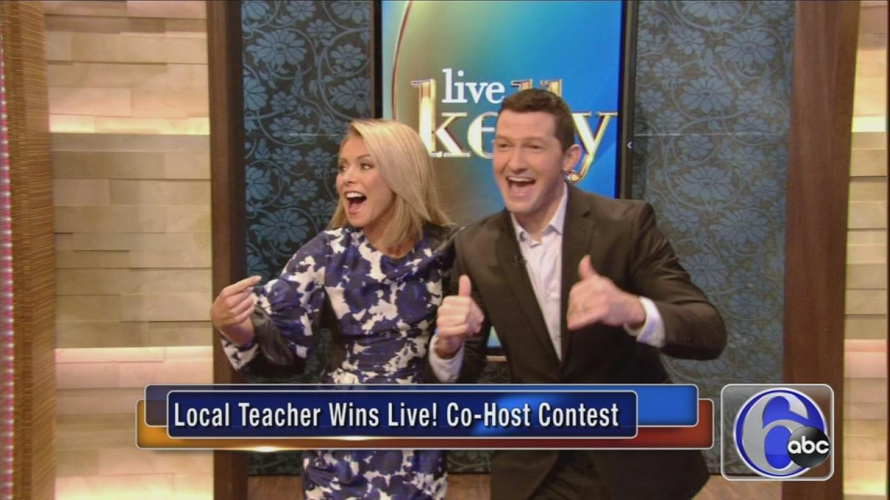 VIDEO: Local teacher wins contest