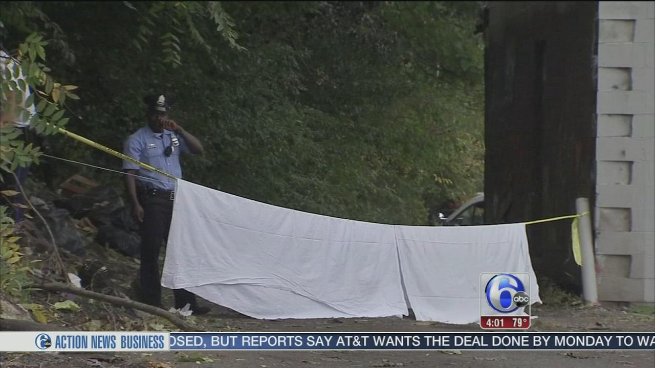 VIDEO: Burned body found in Kensington alleyway