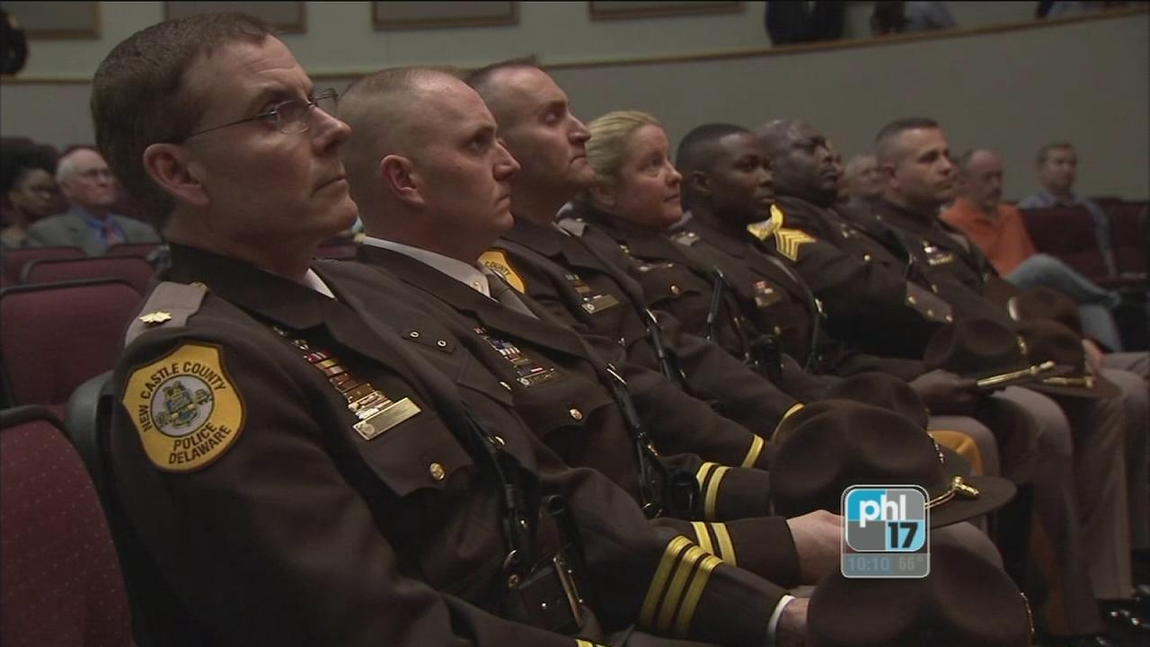 VIDEO: New Castle Countys finest recognition ceremony