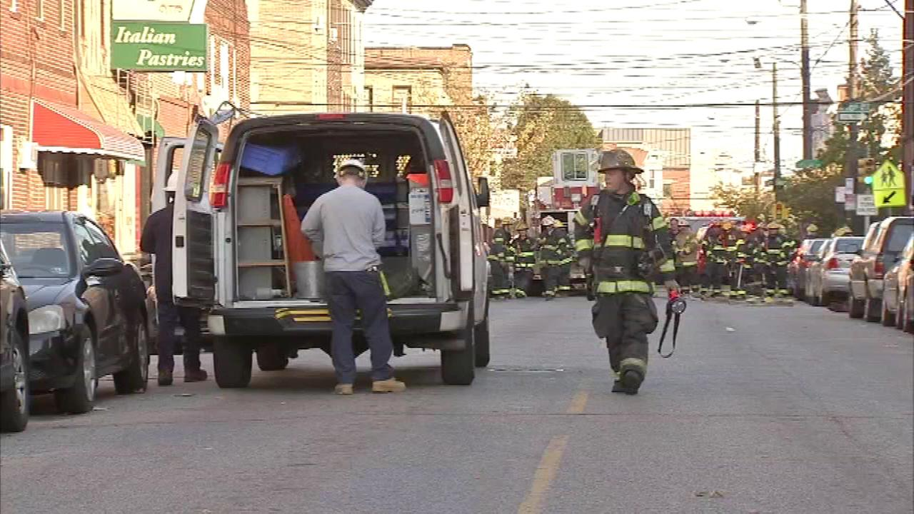 A gas leak prompted the evacuation of residents in South Philadelphia.