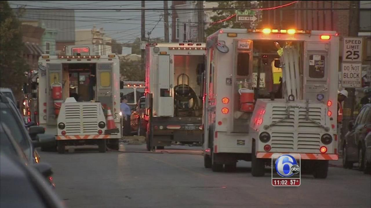 VIDEO: Gas leak