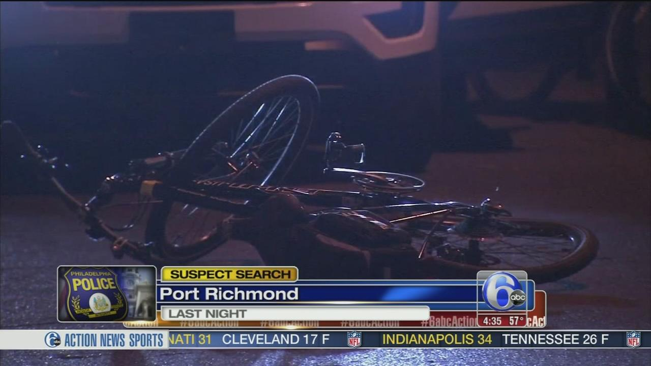 VIDEO: Officer on bicycle struck by car