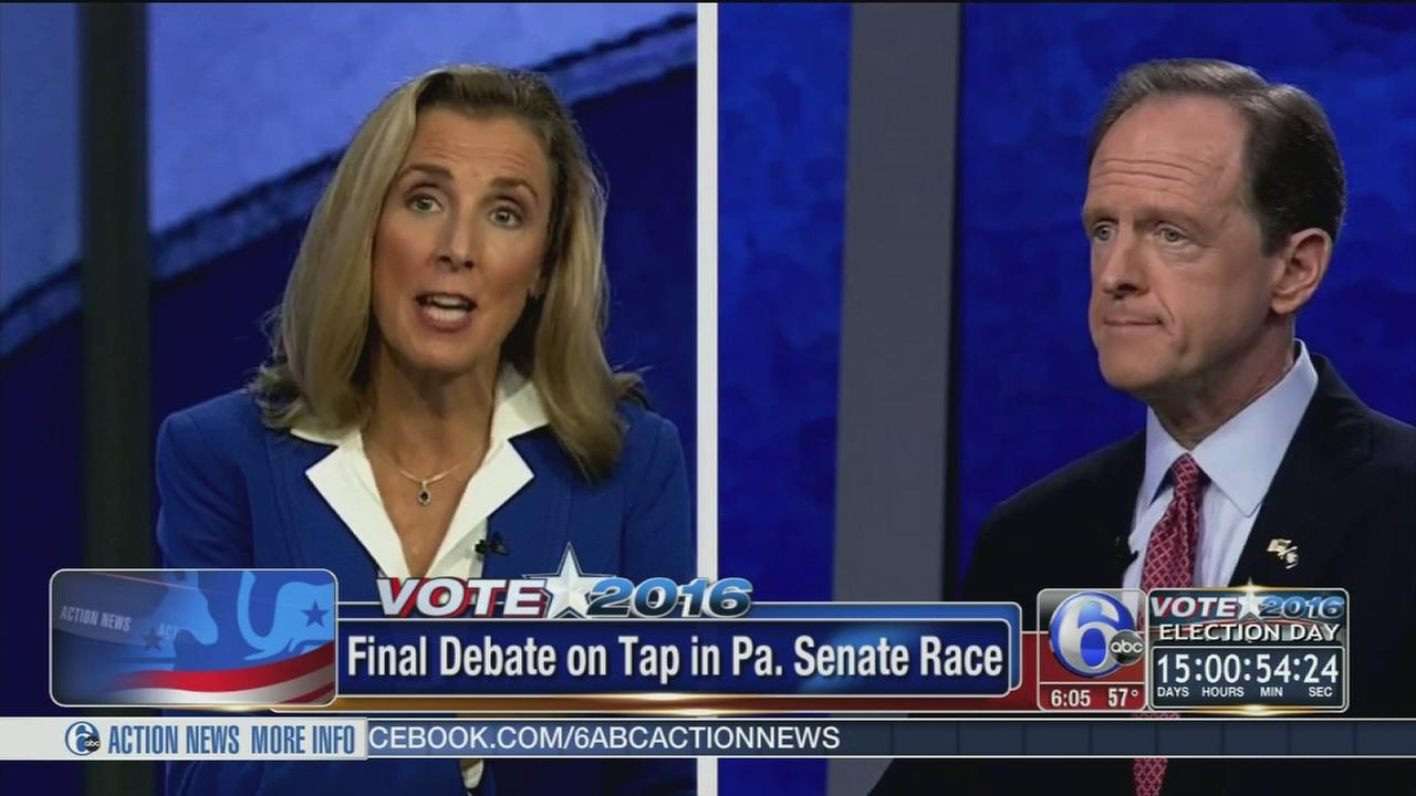 VIDEO: Pa. Senate debate tonight