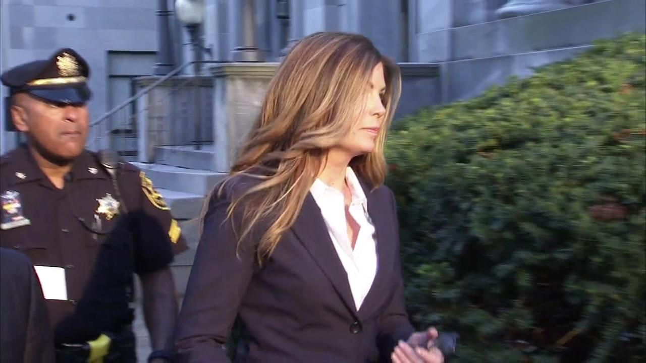 October 24, 2016: Former Pennsylvania Attorney General Kathleen Kane arrives for a sentencing hearing at the Montgomery Co. Courthouse in Norristown, Pa.