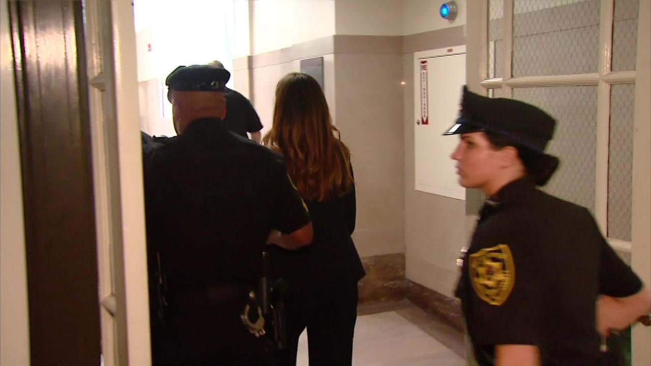 Pictured: Former Pa. Attorney General Kathleen Kane after sentencing on Monday, October 24.