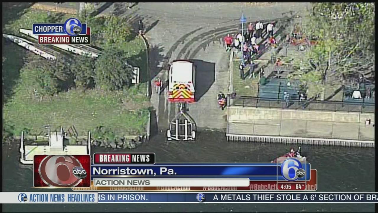 VIDEO: Man arrested after jumping into Schuylkill