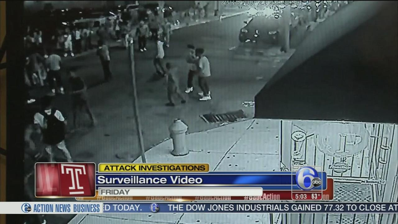 VIDEO: 4 teens in custody after random attacks near Temple