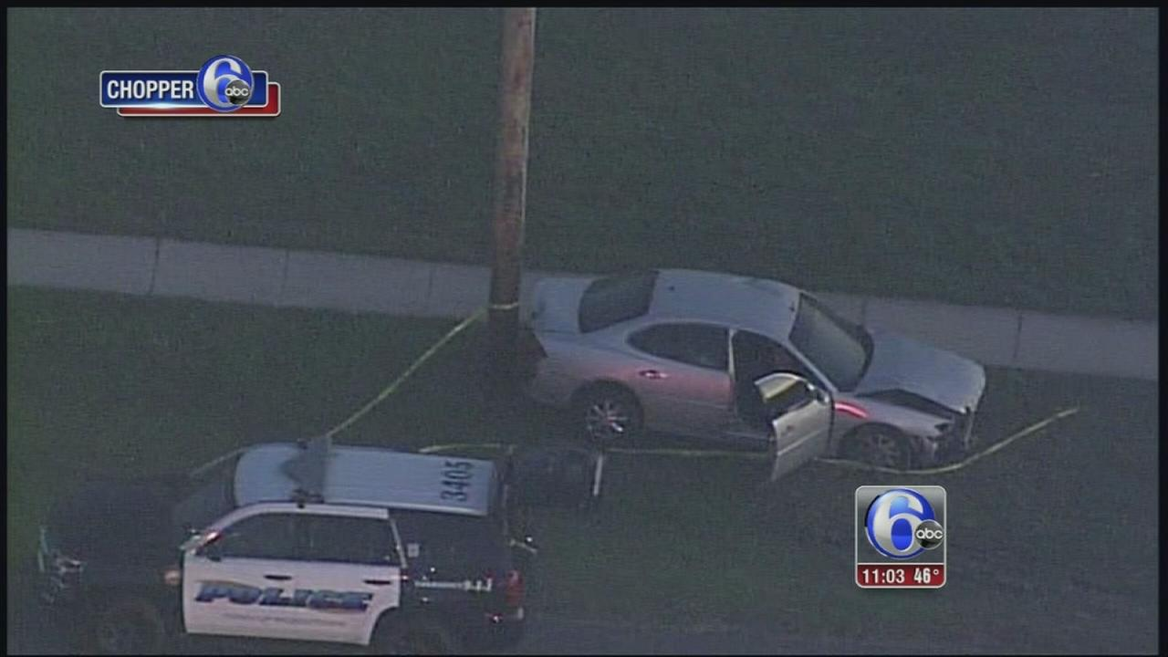 VIDEO: Person shot, injured in crash in Middletown