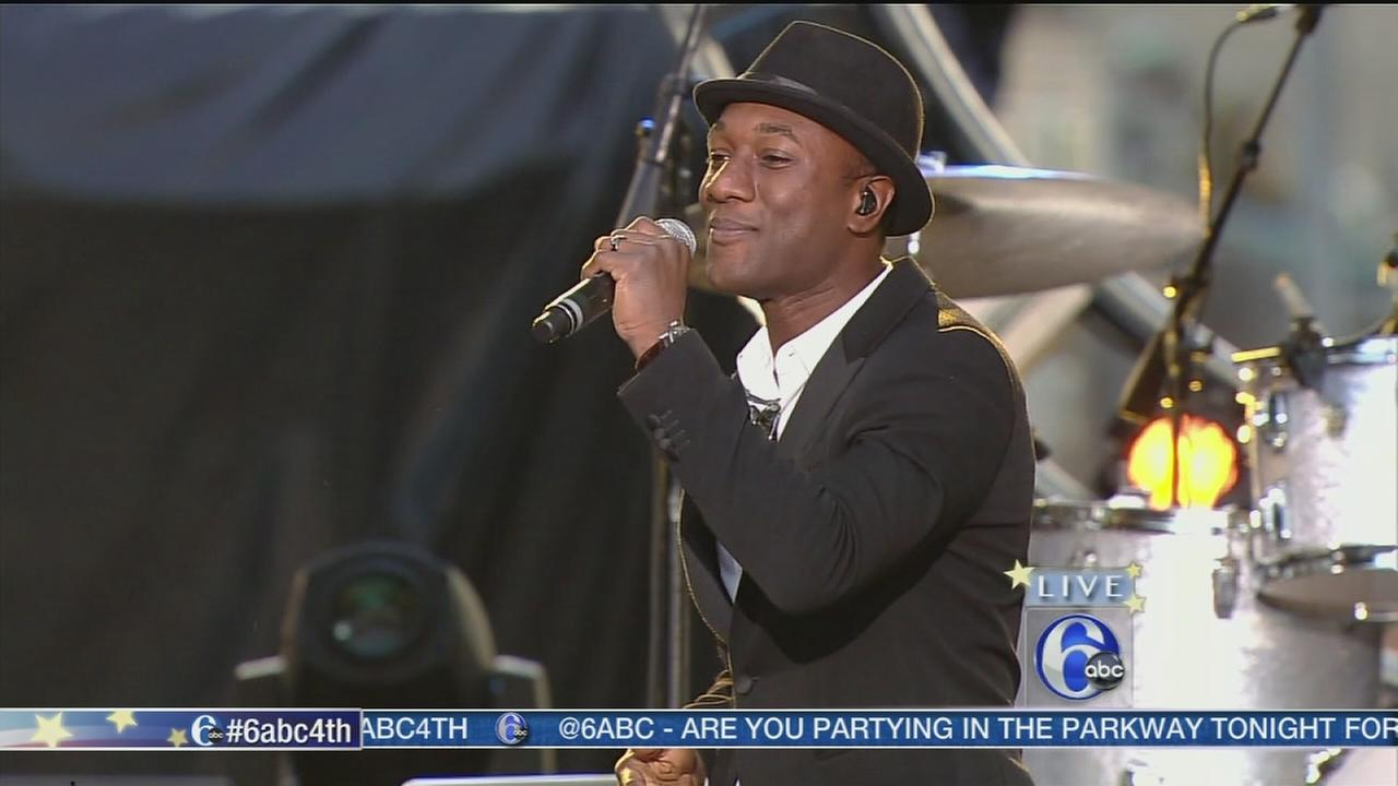 2014 Philly Jam: Aloe Blacc <span class=meta>(WPVI)</span>
