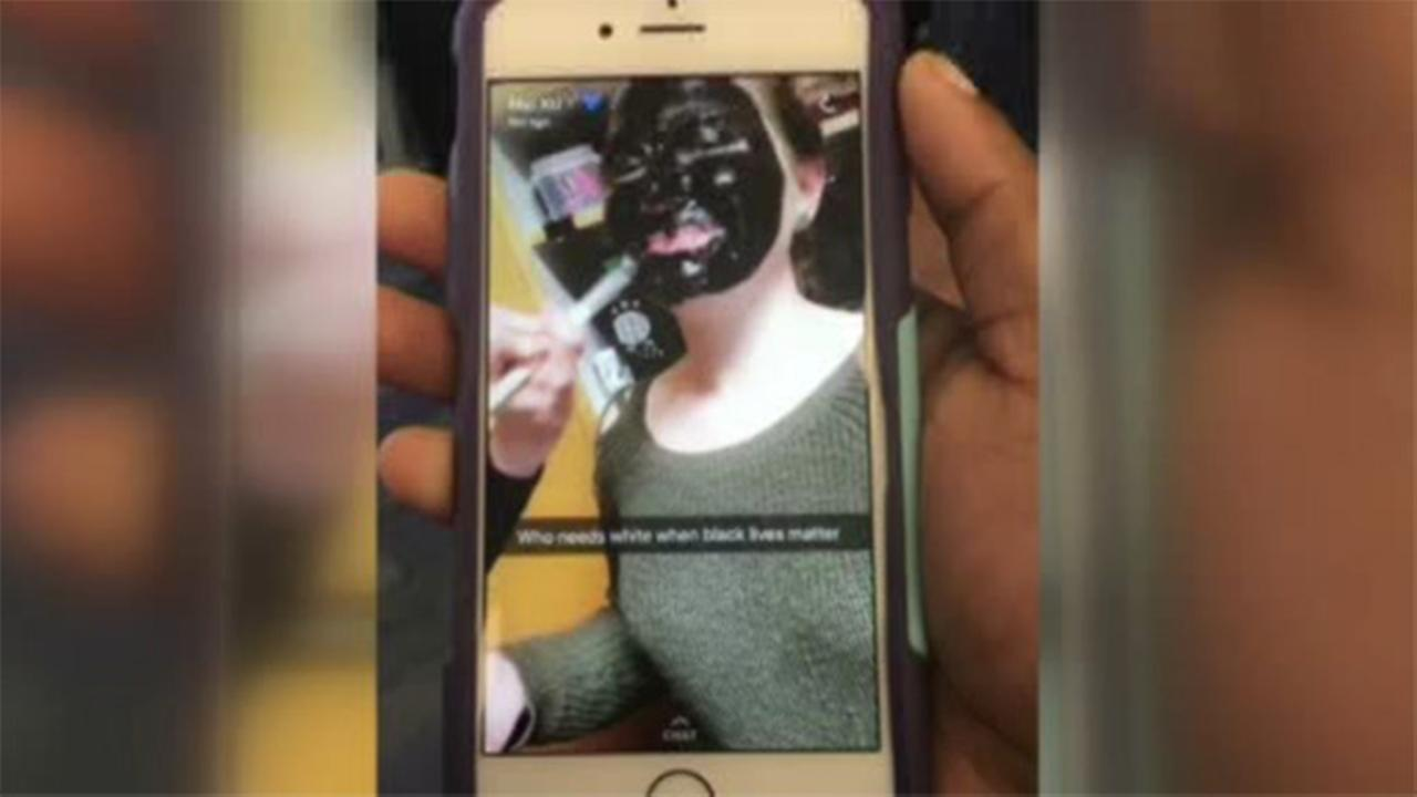 Students outraged over racist image in Ohio