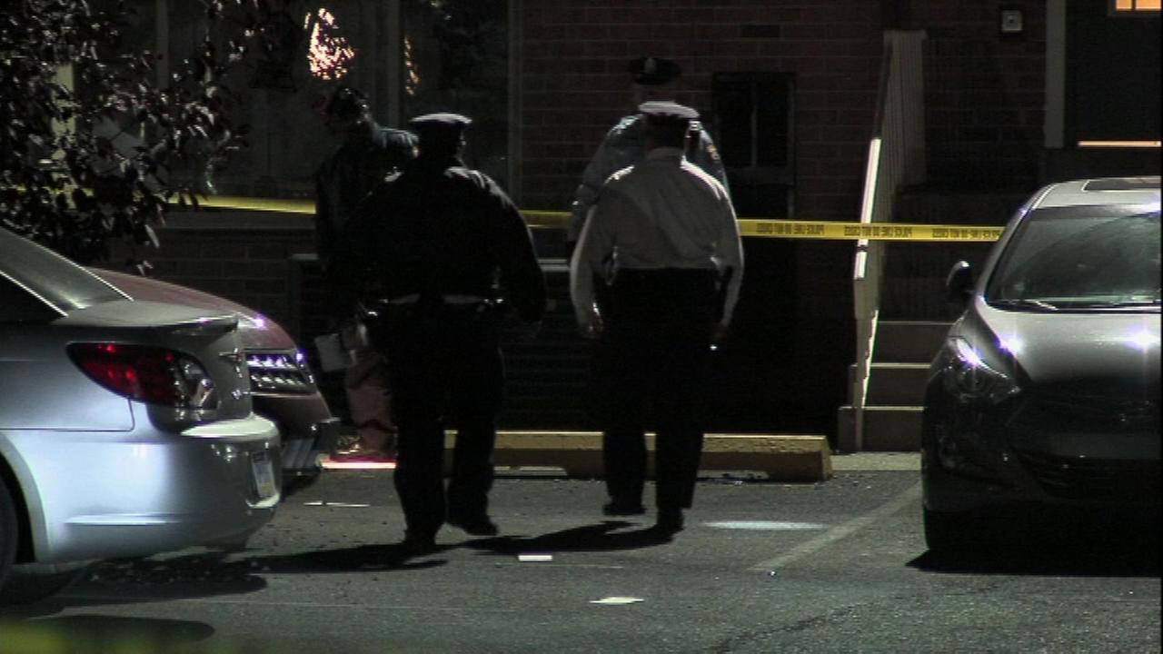 PICTURES: Woman found shot dead between parked cars in NE Philadelphia