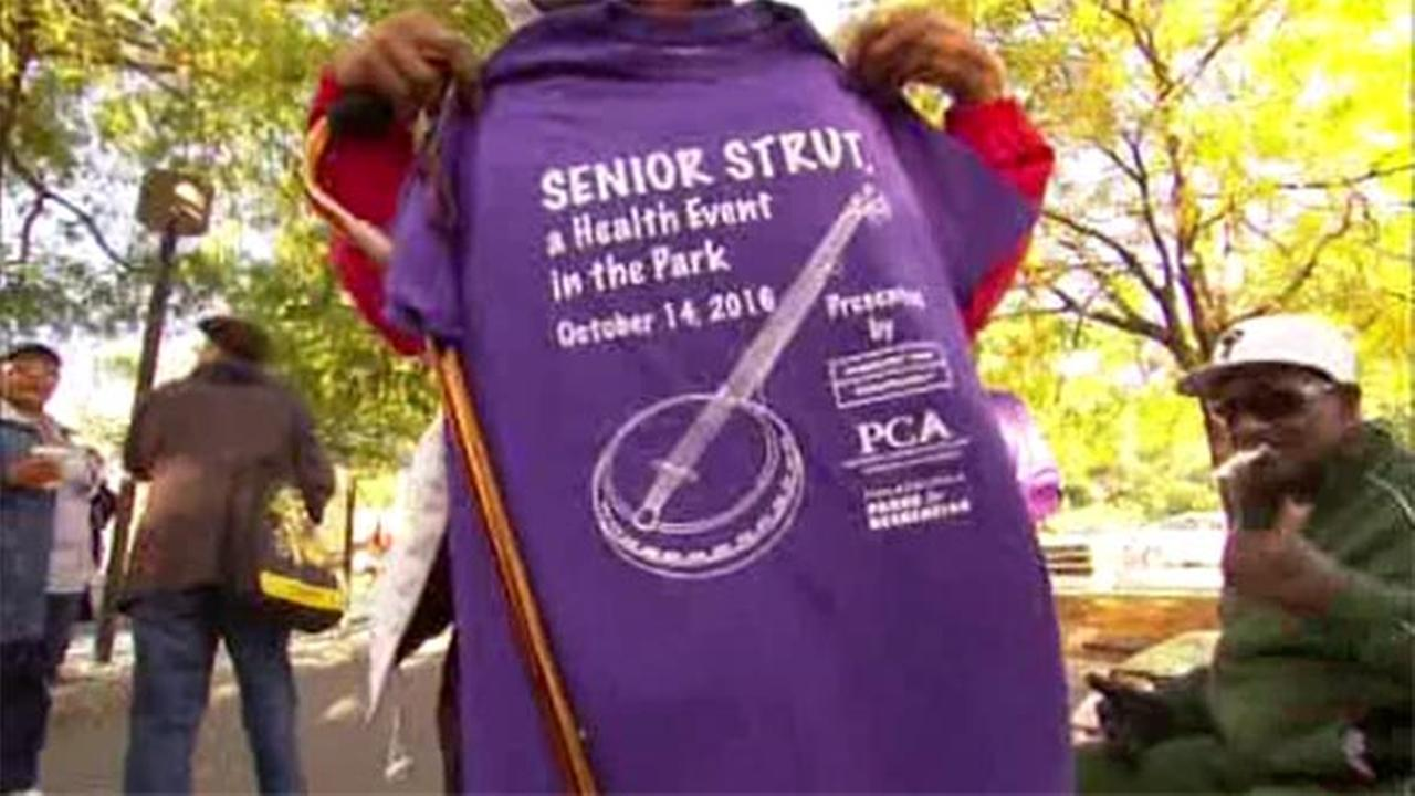 Art of Aging: Senior Strut