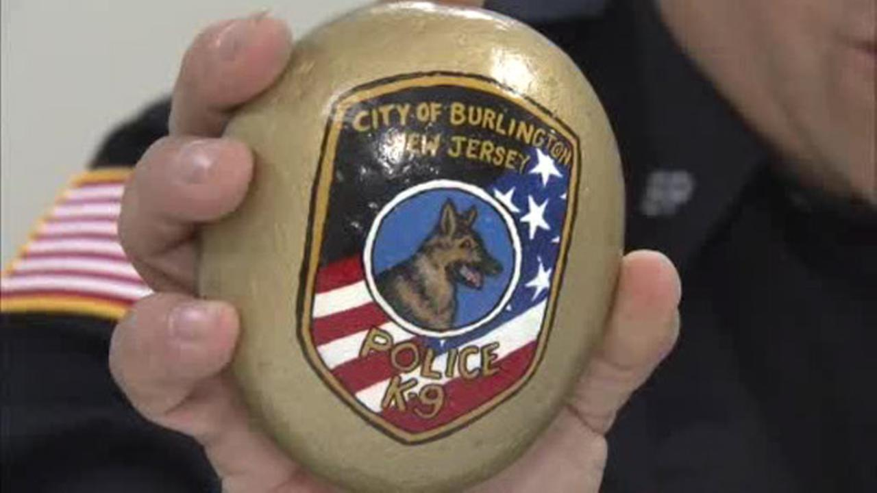 Burlington Rocks: Police hiding rocks for kids to find