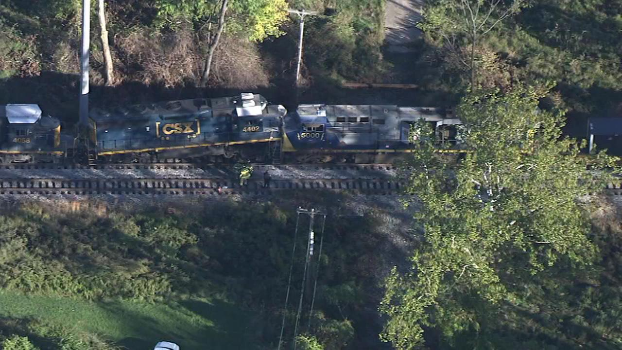 October 28, 2016 - Delaware County authorities are investigating an accident involving two freight trains.