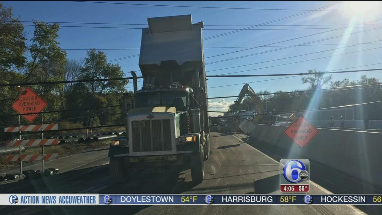 VIDEO: Downed wires forced Turnpike closure