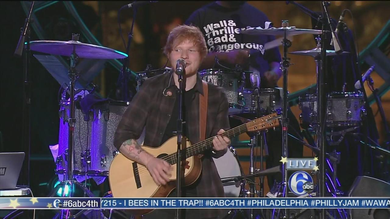 2014 Philly Jam: Ed SheeranWPVI