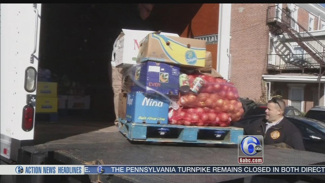 Delaware County food drive