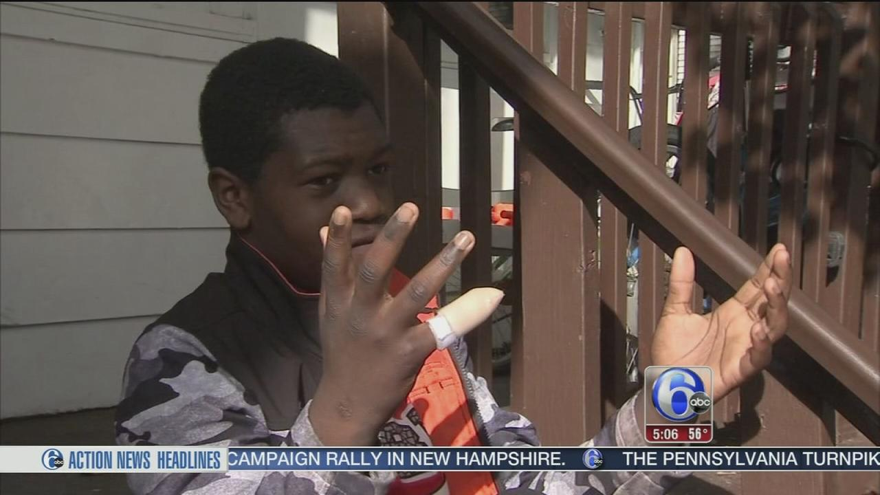 VIDEO: Boy, 12, loses part of finger on locker at NJ school