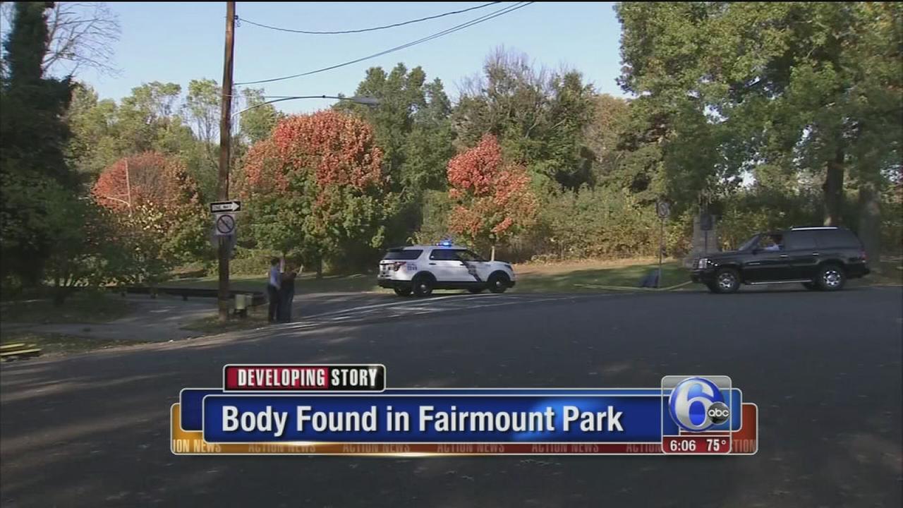 VIDEO: Body found in Fairmount Park