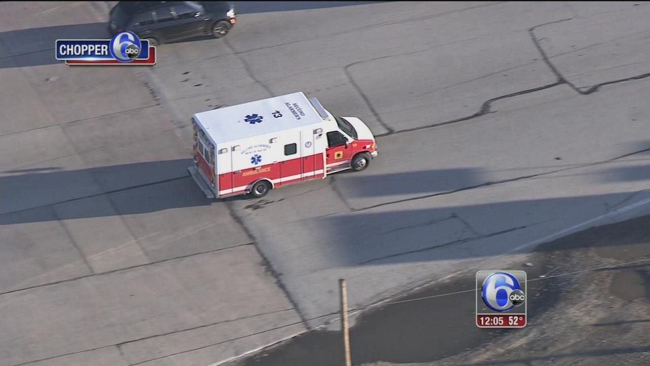 VIDEO: Turnpike worker hit by vehicle