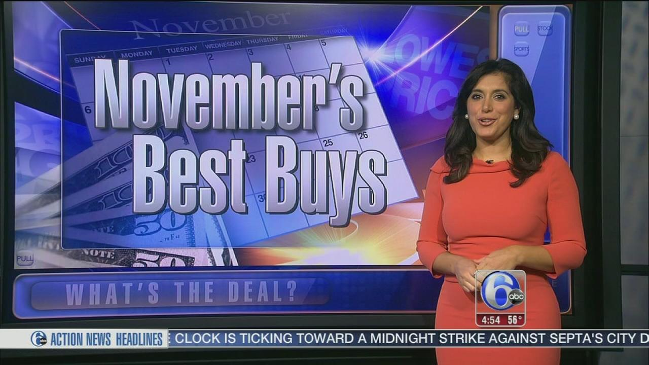 VIDEO: Whats the Deal: Best items to buy in November
