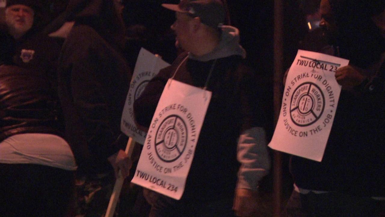November 1, 2016: At 12:01 a.m., union officials, representing more than 5,000 of SEPTAs workers, announced they were going on strike.