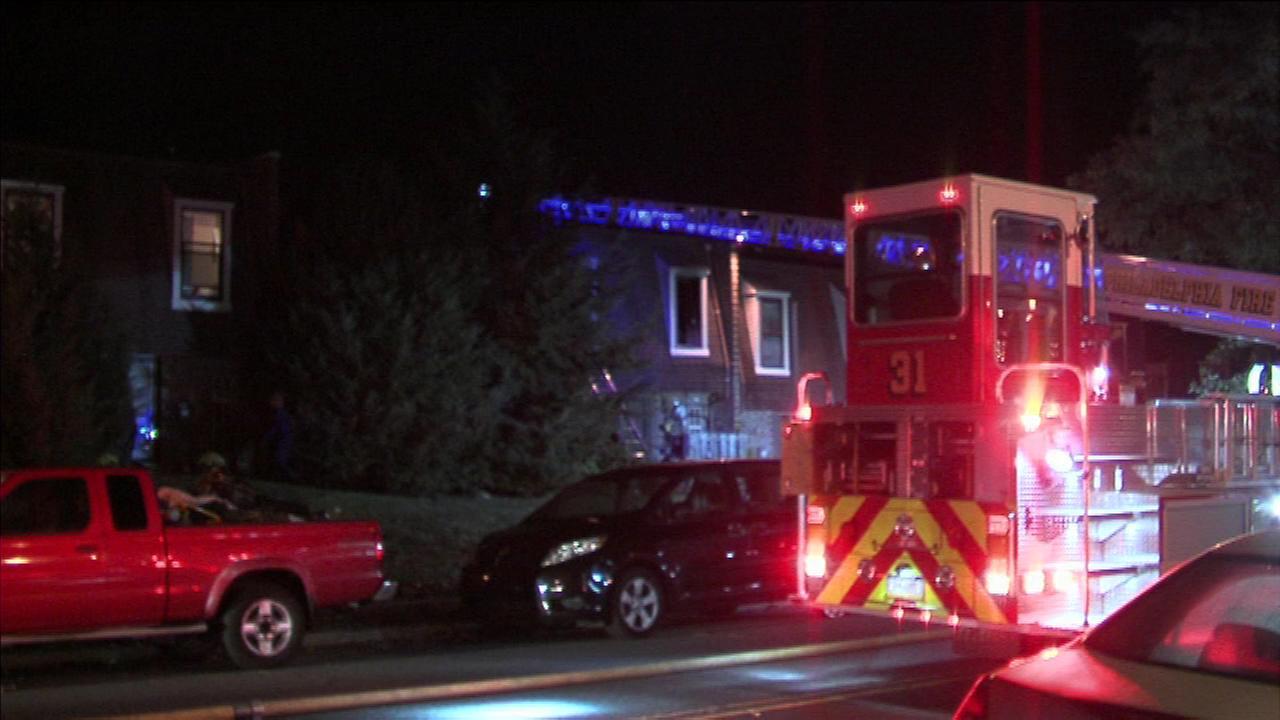 November 1, 2016 - Two men injured in Northeast Philadelphia house fire