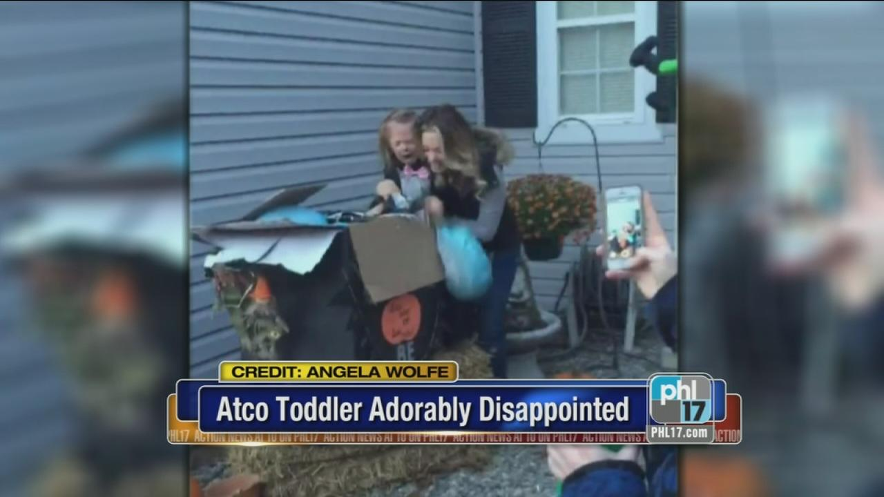 VIDEO: Atco toddler disappointed