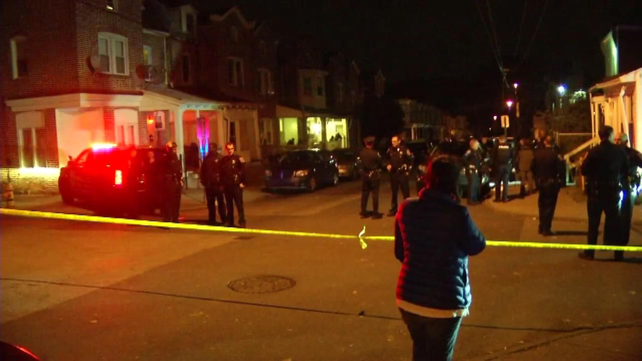 November 2, 2016 - A man in his 20s is in critical condition after a shooting in Wilmington, Delaware.
